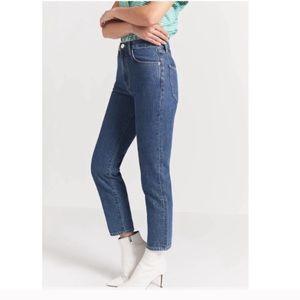 NWT! Current Elliott The Vintage Cropped Slim Jean